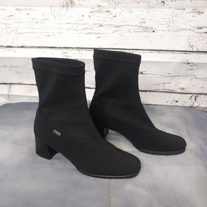 Ara/ Black Slip on boot/ Size 7